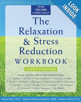 Image of Relaxation and Stress Reduction Workbook
