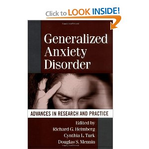 Image of Generalized Anxiety Disorder Book