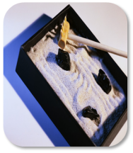 Image of zen sand tray